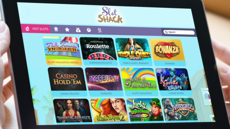 Slot Shack Casino software and game variety