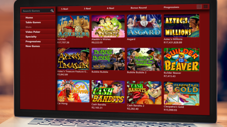 Jackpot Cash Casino software and game variety