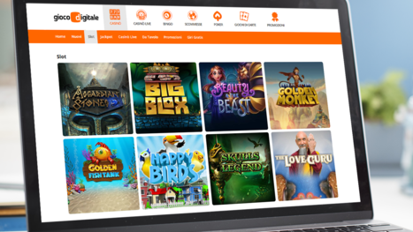 Gioco Digitale Casino software and game variety