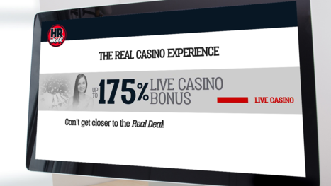 HRwager Casino bonuses and promotions