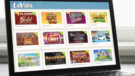 Casino La Vida software and game variety