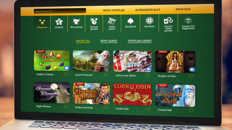 OnlineCasino Deutschland software and game variety