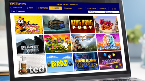 Spin Prive Casino software