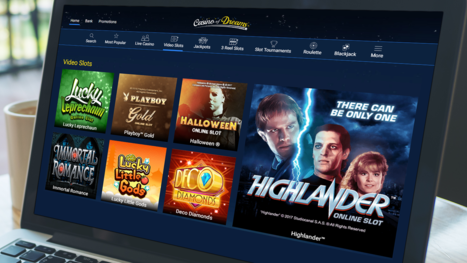 Casino of Dreams software and game variety