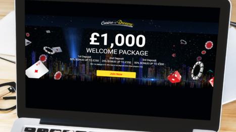 Casino of Dreams bonuses
