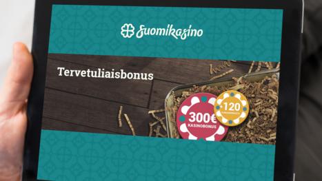 SuomiKasino bonuses