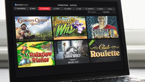 Quartz Casino game variety