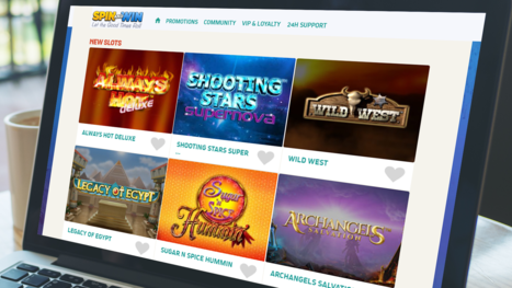 Spin and Win Casino slots games