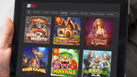 10Bet Casino software and game variety