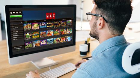 Casino Max main page