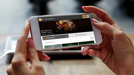 188BET Casino mobile and live games