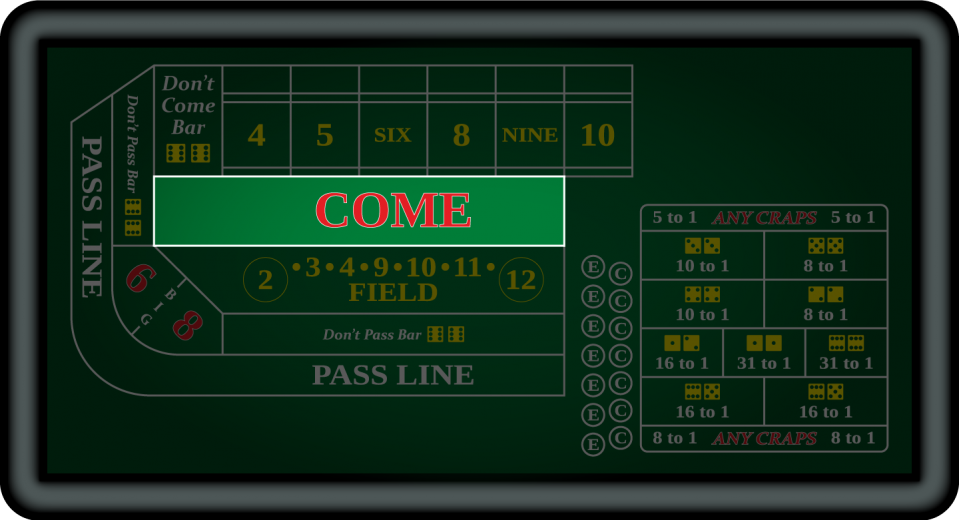 Come Line Bets