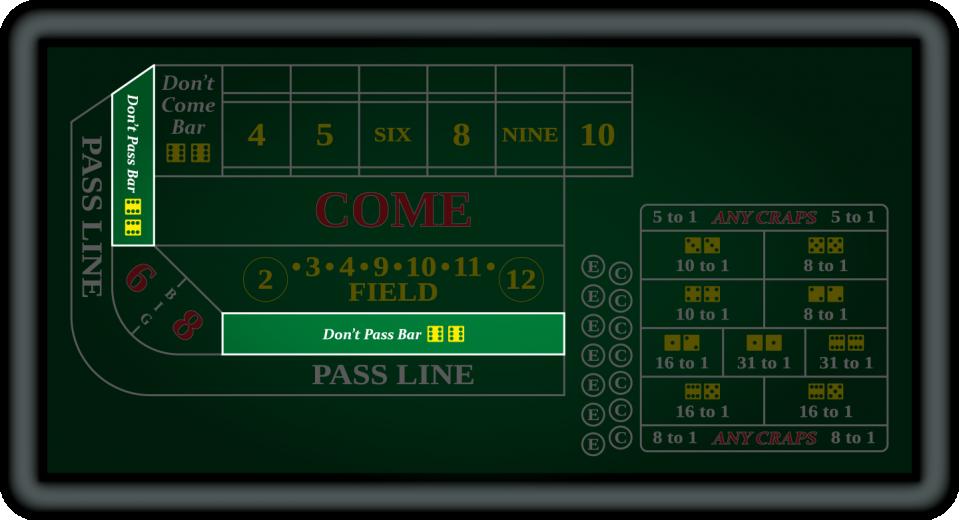 Don't Pass Bar Bets