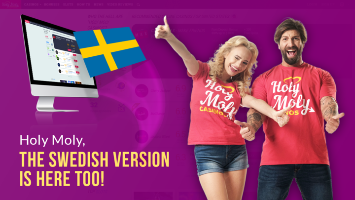 """Holy Moly Says """"Hello"""" to Sweden!"""