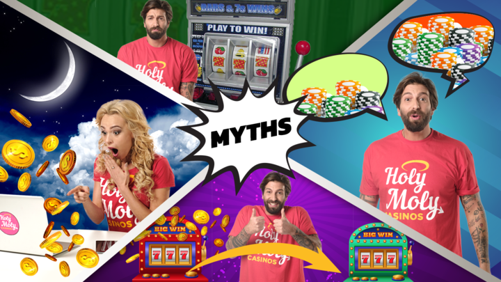 Ridiculous Yet Widely Believed Slot Machine Myths