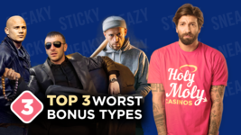 😈 Top 3 Worst Types of Casino Bonuses