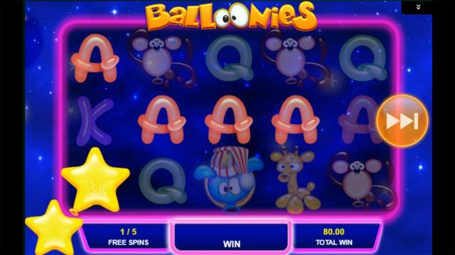 balloonies slot bonus game screen.png