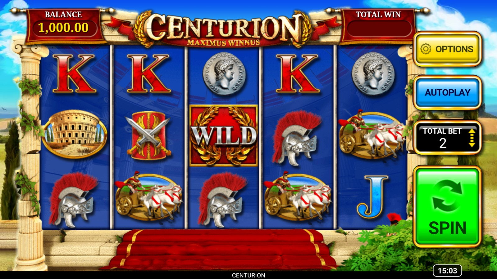 Image result for Review of gameplay on Centurion Slot