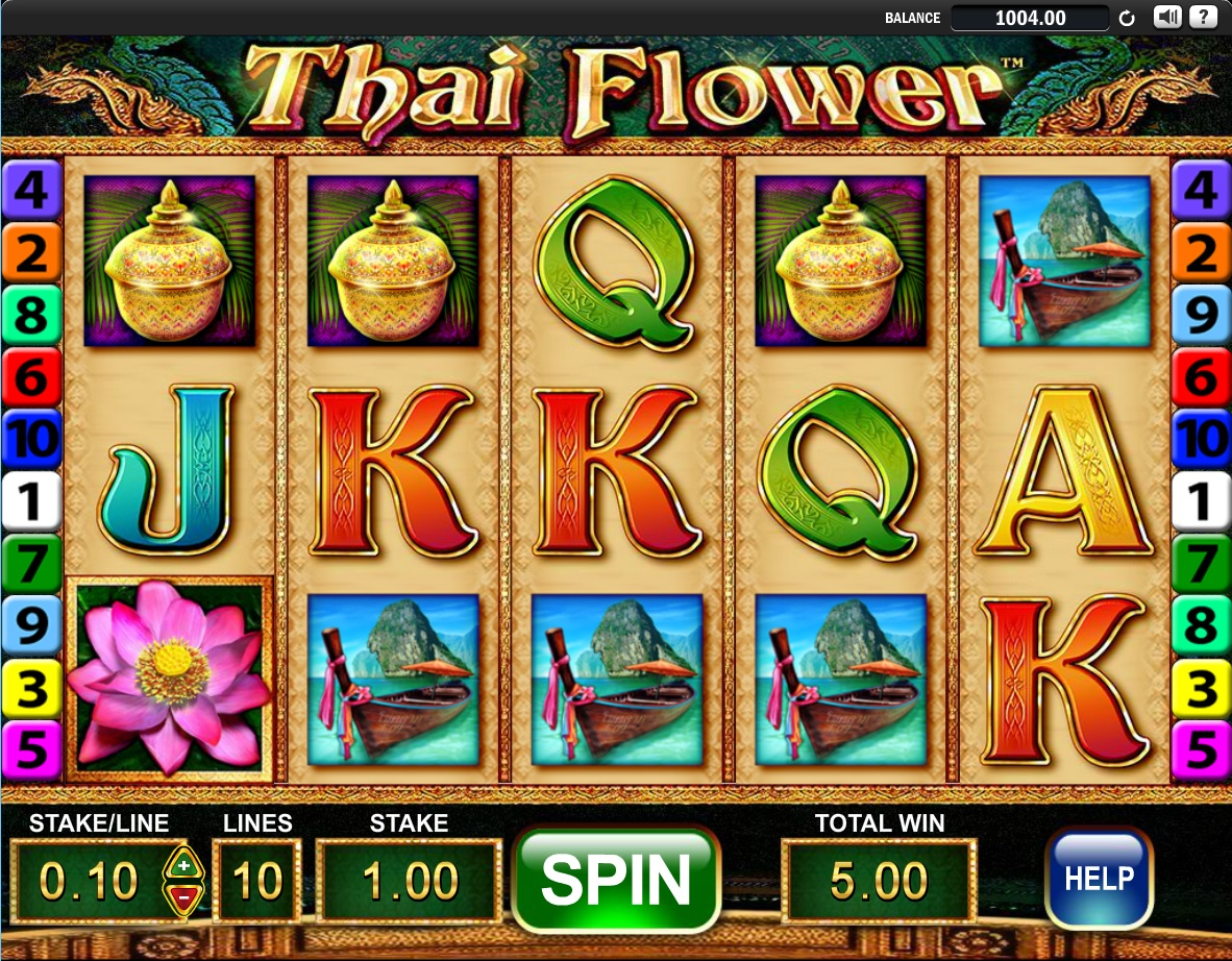 Thai flower slot online game holymolycasinos thai flower izmirmasajfo